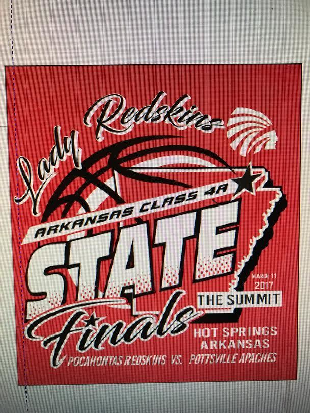 2017 Girls Basketball State Final Shirt Sales