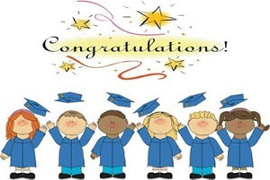 Preschool Graduation Wednesday, May 17th at 5:30