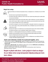 Hand washing guidlines (Marshallese)