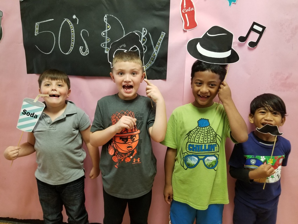 First Grade 50s Day