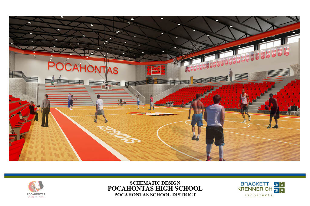 Pocahontas High School Project-gym